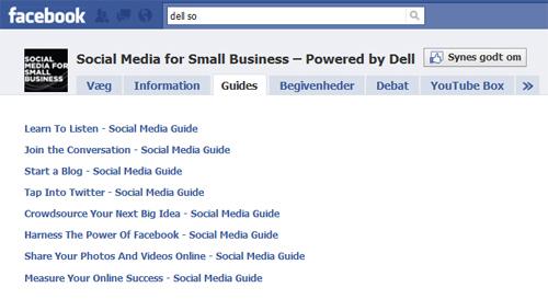 Hvordan bruger du de sociale medier? Dell hjælper dig. Det husker du, når du skal ud og købe nye computere til firmaet.